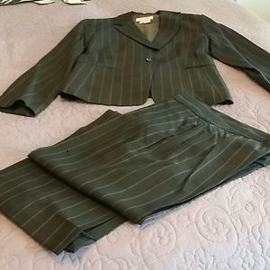 Zara pinstriped suit
