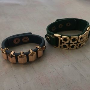 Jewelry - 2 bracelets with hardware