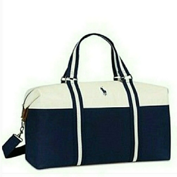 🆕Ralph Lauren Weekender Travel Bag 02093a3a27ed8