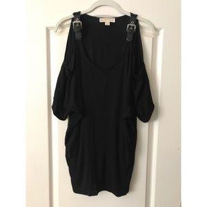Michael Kors open shoulder tunic top