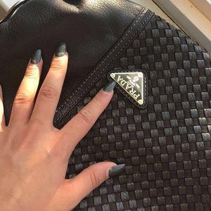Prada Milano Brown Leather Handbag