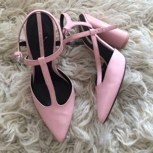 Bubble Gum Pink Mary Jane Pumps