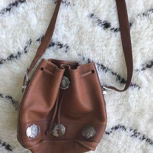 Vintage Western Bucket Bag