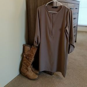 APT9 Casual Dress - Poised Taupe (S)