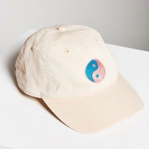 BDG Icon Canvas Peace Baseball Hat