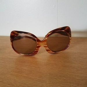 Vintage Mod Oversized Cat Eye Sunglasses