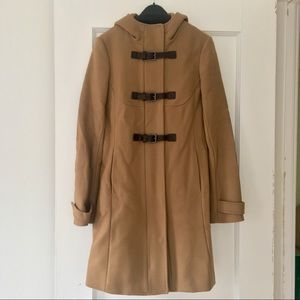 Theory Camel Wool/Cashmere Coat