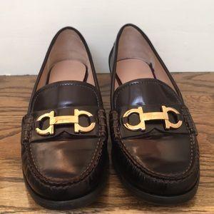 Salvatore Ferragamo double Gancio loafers