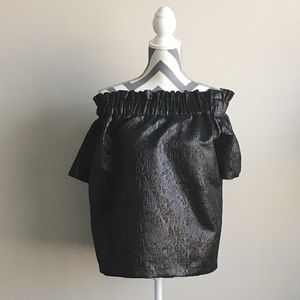 Jazzy off the shoulder shimmer top from ASOS SZ 14