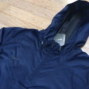 a323e26d13 Nike Jackets   Coats - Nike Men s Stock Woven 1 4 Zip- Navy