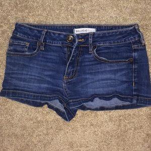 Bullhead Black jean shorts