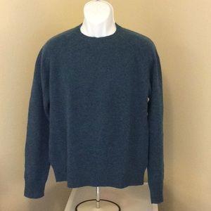 Mens J Crew Teal Sweater