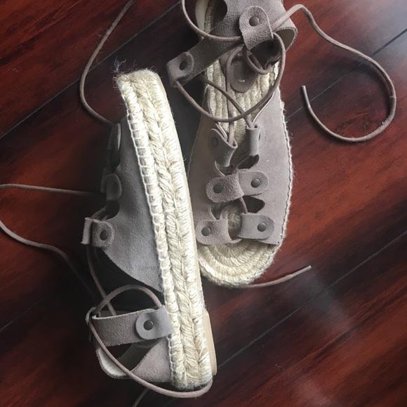 6bf071775d2c Soludos Ghillie Platform Sandal. M 5a2d98d32fd0b78d700718e2