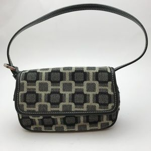 NINE WEST Women's Purse Handbag Black Grey