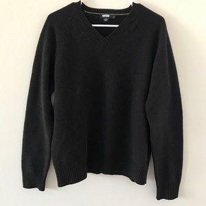 J. Crew • Brown V-Neck Sweater
