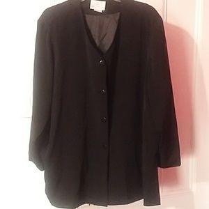 Beautiful Black Blouse size 3x
