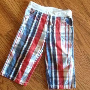 Baby Boden Plaid Pants 18-24m