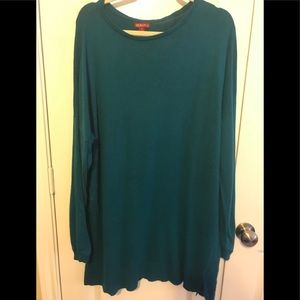 Merona dark teal sweater
