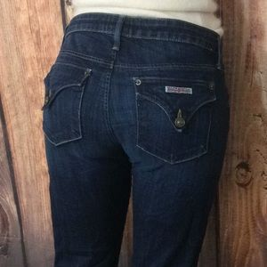 Hudson Jeans Carly Mid Rise Straight Stretch 28X33