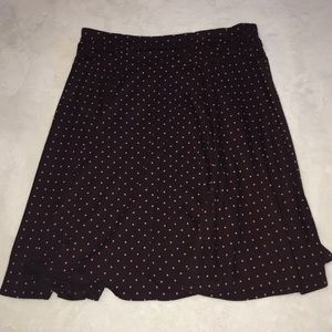 joey b Bottoms - Polka dot skirt