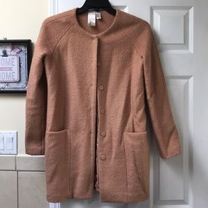 F21 winter tweed coat