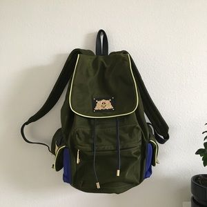 JUICE COUTURE OLIVE BACKPACK