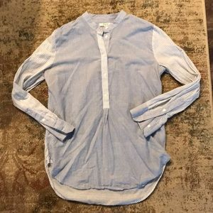 Madewell Market Popover in Mixed Stripe