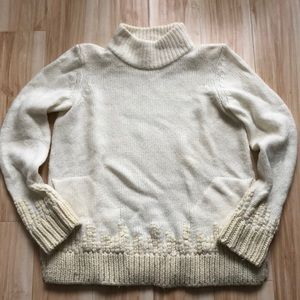 Anthropologie Mockneck Sweater