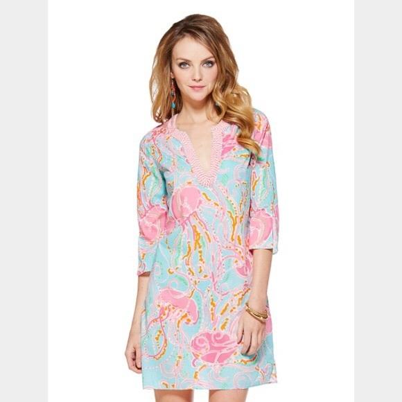 cf18f7aff4d841 Lilly Pulitzer Dresses | Jellies Be Jammin Tunic Dress | Poshmark