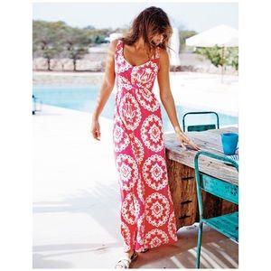 Boden Pink Jersey MaxiDress