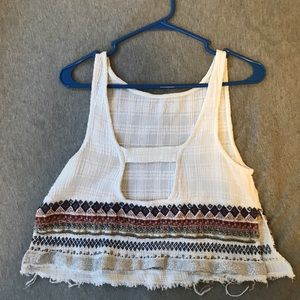 White shirt with embellishment