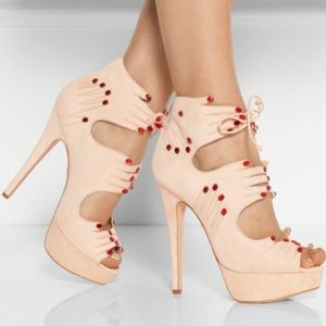 {charlotte olympia} 'Hands On' Suede Heels