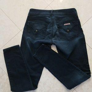 Hudson skinny jeans W 29 dark wash summer denim