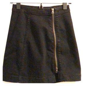 Free People • Mini denim skirt