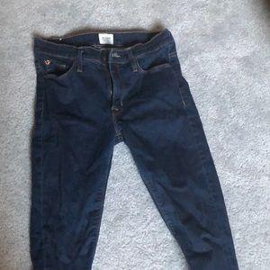 Like-New Hudson Mid-rise Nico Super Skinny Jeans