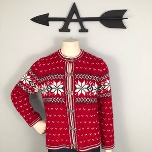 Holiday Croft and Barrow Sweater size Large