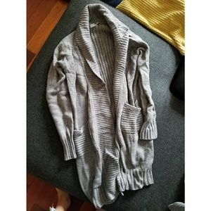 ASOS Long Knit Open Cardigan US 4