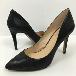 Jessica Simpson Pointed Toe Pumps Black Size 9.5