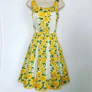 Ann Taylor LOFT floral bright dress