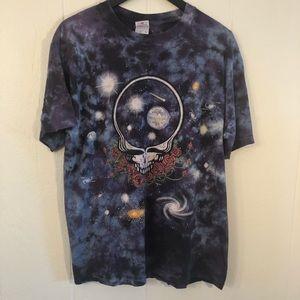 Vintage 1997 Grateful Dead Space your Face Tie Dye
