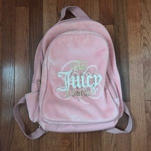 💖 Juicy Couture 💖 velour back pack