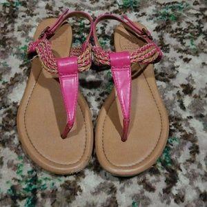 Pink sandles