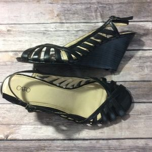 Cato wedge sandal 11 W