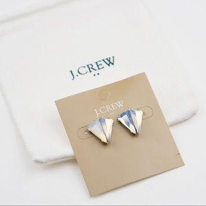 J.Crew Double Triangle Stud Earrings