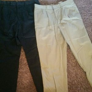 2 different mens dress pants from Dockers