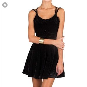 Cecico Velvet Cocktail Dress