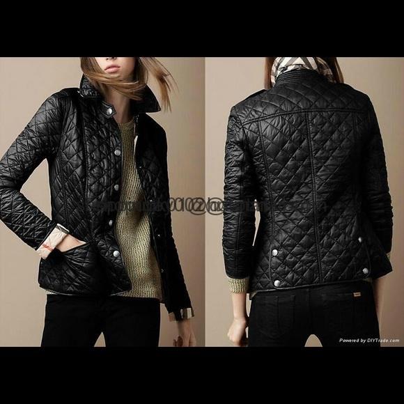 Burberry Jackets Coats Nwt Kencott Quilted Jacket Poshmark