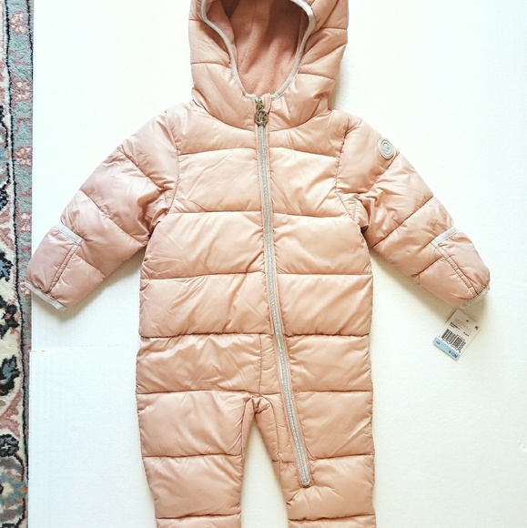2c91a3280 Michael Kors Jackets & Coats | Baby Infant Snowsuit Pink 612 Months ...