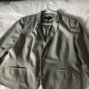 Grey Worthington blazer