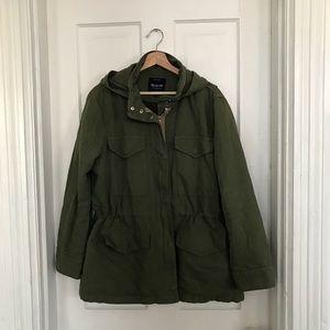 Madewell military anorak jacket